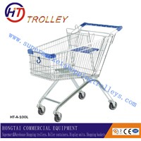 Factory Direct Sales Hand Trolley European Type Shopping Cart