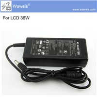 Waweis LCD Monitor 12V 3A AC Power Adapter power supply display ac dc adapter transformer warranty