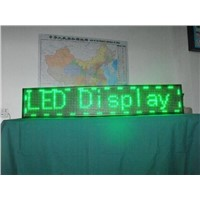 P10 monochromatic green color LED Displays