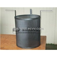 Factory suppy Titanium anode cylinder for sewage disposal