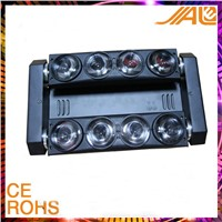 8 eyes white/RGBW led  Spider moving head beam stage light