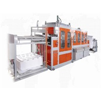 Top quality fast food box making machine