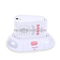audio wireless baby monitor with walkie-talkie function