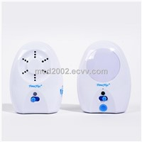 wireless audio baby monitor with nightlight, sound light, auto mute , low battery indicator, CE mark
