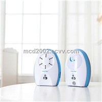 wireless audio baby monitor with nightlight, sound light, auto mute , rechargeable