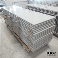 Glacier white artificial stone solid surface sheet
