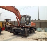 Used Wheel Excavator Hitachi EX160WD / Wheel Excavator Hitachi EX160WD