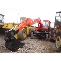 Used Wheel Excavator Hitachi WH03 / Wheel Excavator Hitachi WH03