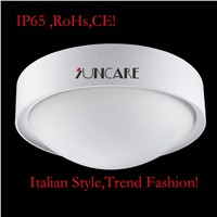 European style round white plastic ceiling lamp