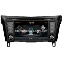 Ouchuangbo audo stereo kit system for S100 Nissan Qashqai 2014