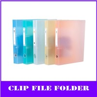 color a4 pp clip file folder with replaceable tagboard