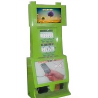 Hot Sales Touch Screen Universal Mobile Phone Charging Station Kiosk Floor Standing Charging Kiosk