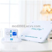wireless baby monitor with sensor pad