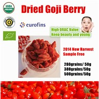 2014 New Harvest Dried goji berry