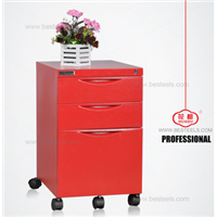 KD structure from China metal movable under desk file cabinet