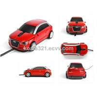 Mini 3D optical USB wired car mouse