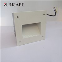New product high quality ce approval white color LED corner step light