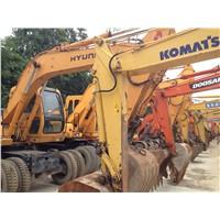 Used Hyundai Wheel Excavator 130W-5 / Hyundai Wheel Excavator 130W-5