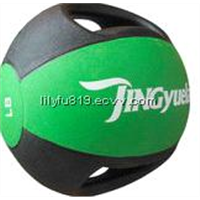 Dual Grip Medicine ball/ Rubber Medicine ball/ Weighted ball