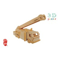 Wooden puzzle FIRE ENGINES