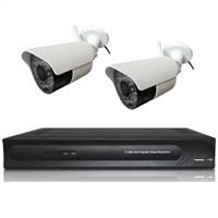 4channel DVR+2wireless cameras kit