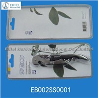 High quality seahorse model waiters'corkscrew with blister packing(EBO02SS0001)
