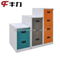 Colorful metal office file cabinet