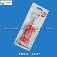 Zinc Alloy Corkscrew with Single-Sided Blister Packing (EBO01SP0039)
