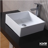Bathroom Above counter top basin, acrylic resin wash basin
