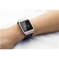 Bluetooth Smartwatch get notified by SMS/BT call/BT music/Weather/Pedometer/Twitter/Facebook/Speaker
