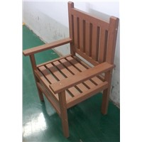 Hot sale! 100% recycled wpc garden chair (waterproof, UV resistance, pest-resistant )