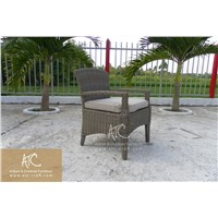 Best selling poly rattan with aluminum frame garden chair