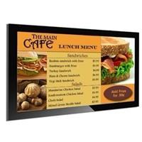 "55"" Sumsung HDMI input lcd digital signage lcd menu screen,restaurant lcd digital menu board"