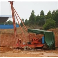 Punching Pile Driver For Boring Hole Of Bridge And Building