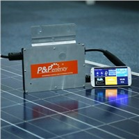 P&P ENERGY high quality industrial application suit for 200-300w solar panel micro inverter