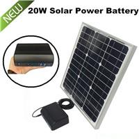 home use portable solar panel power 5V 12V 19V