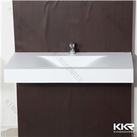 zero water absorption solid surface wash basin