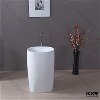 hot sell design artificial stone wash basin stone resin bathroom wash basin