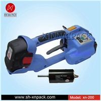 XN-200 T-200 carton pack battery PP PET hand held box strapping machine