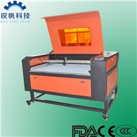 Laser Cutting & Engraving Machine RF-9060-CO2-60W for textile,cloth,leather,acylic,paper,rubber