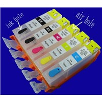 IP3680/ IP4680/ MP638(Asia) Refillable ink cartridge   PGI-820BK,cli821bk/c/m/y with arc chip