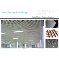 2014 Fashionable Aluminum Open Grid Suspended Ceiling