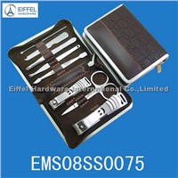 Hot sale 8pcs Nail care kit in leather pouch (EMS08SS0075)
