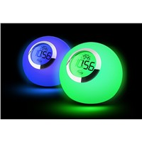 LED mood lamp  with time and clock function