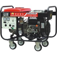 6KW Brushless Electric Start Three Phase Portable Rare Earth Permanent Magnet Diesel Generator Set