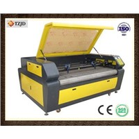 Newest technology Fabric/Cloth/Garment Auto Feed Laser Cutting machine TZJD-1610