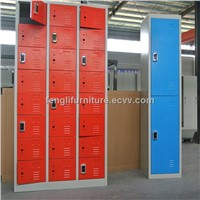 K/D Structure Steel Rfid Locker