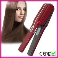 Professional travel mini cordless hair straightener