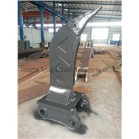 High Strength Steel Excavator Rock Ripper For Smashing Gravel / Stone