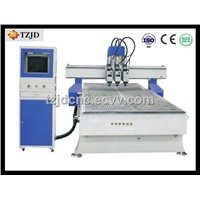 Multi-Head CNC Pneumatic Tool Changer Engraving machine